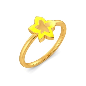 Fruity Fission Gold Rings