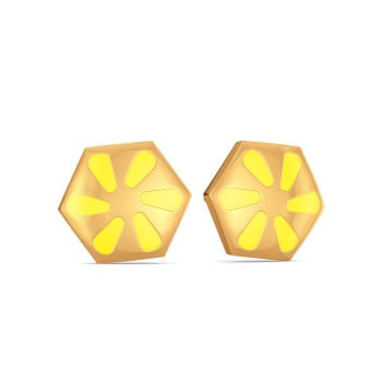 Sweet N Sour Gold Earrings