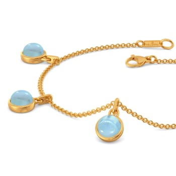 Alice Blue   Gemstone Bracelets