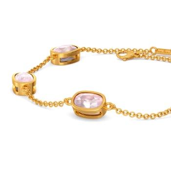 Pink Periwinkle Gemstone Bracelets