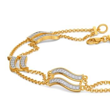 Frill Grandeur Diamond Bracelets