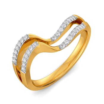 Frill Grandeur Diamond Rings