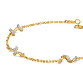 Structural Drama Diamond Bracelets