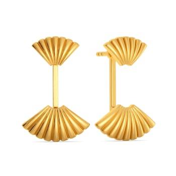Miss Poisson Gold Earrings