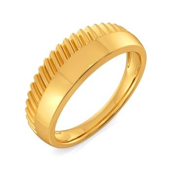 Basket Brooch Gold Rings