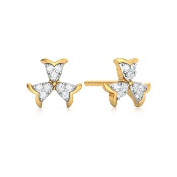 Amaze Acorn Diamond Earrings