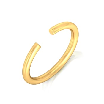 Sleek N Meek Gold Rings