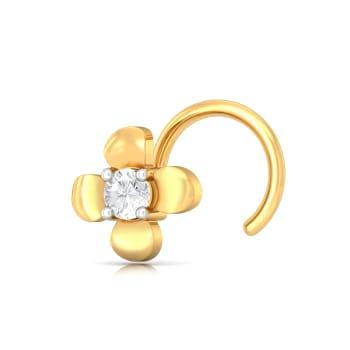 Cosy Posy Diamond Nose Pins