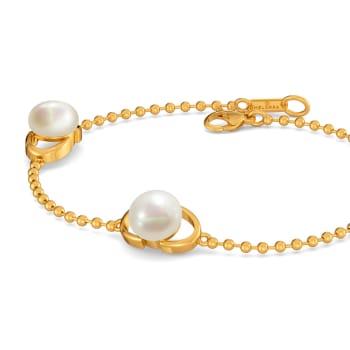 Pearl Swirl Gemstone Bracelets
