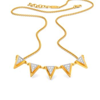Misty Twists Diamond Necklaces