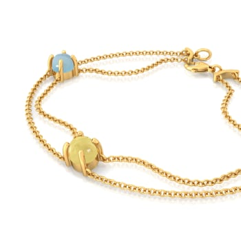 Pastel Sundae Gemstone Bracelets