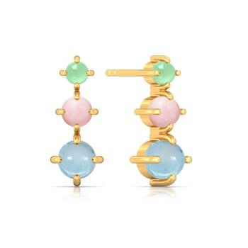 Soft Serve Gemstone Earrings