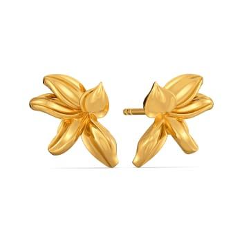Spring O Wild Gold Earrings