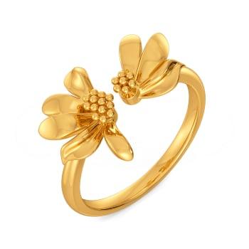 Daisy Glory Gold Rings