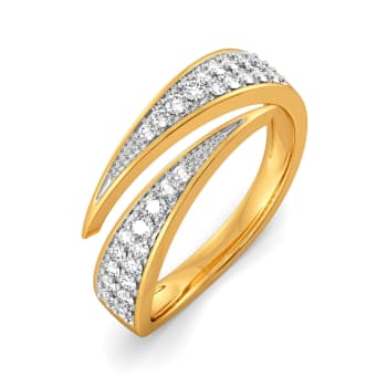 Power Triangle Diamond Rings