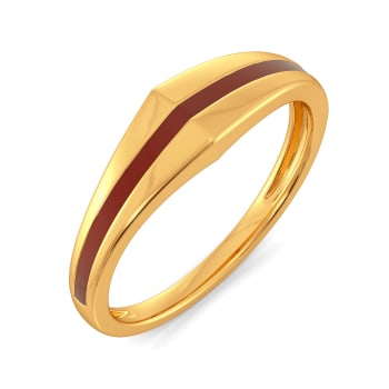 Dual Scholars Gold Rings