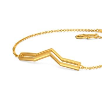 Parallel Twos Gold Bracelets