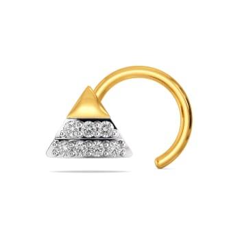 Bow Tousle Diamond Nose Pins