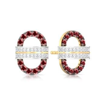 Strawberry Fields Diamond Earrings