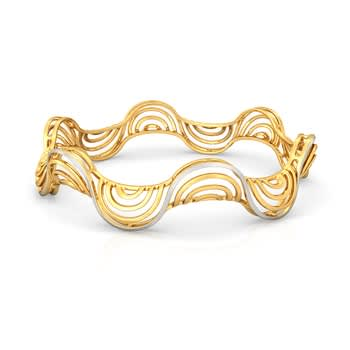 FourC Gold Bangles