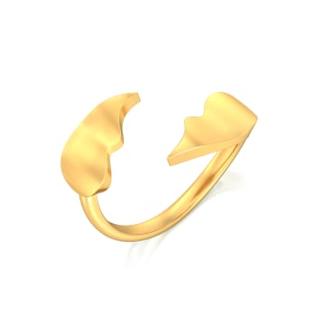 New Wave Gold Rings
