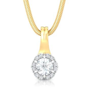Night Star Diamond Pendants