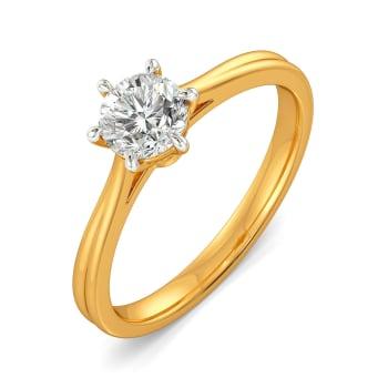 Edgy Extraordinaire Diamond Rings