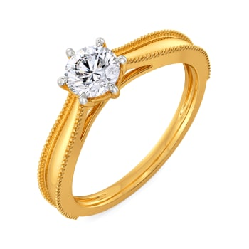 Love Blossom Diamond Rings