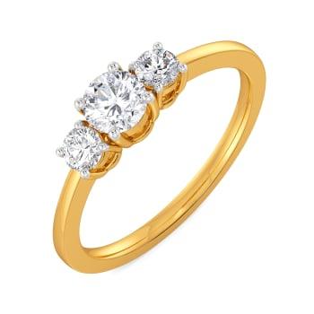 Penchant for Panache Diamond Rings