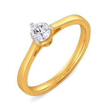 Sparkle Spin Diamond Rings