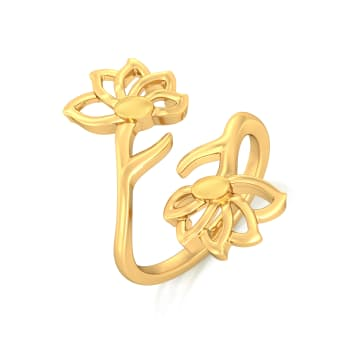 Not So Mellow Yellow Gold Rings