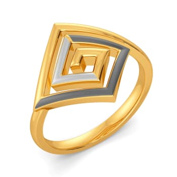 Power Meet Gold Rings