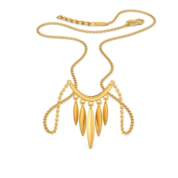The Lens Prance Gold Necklaces
