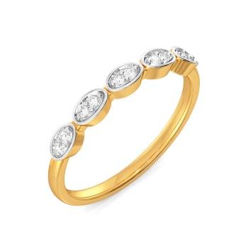 Twinkle Tweed Diamond Rings