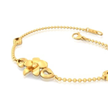 Bloom in Retro Gold Bracelets