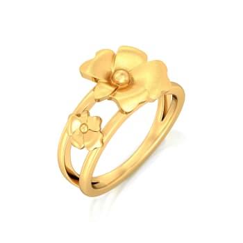 Taffeta Gold Rings