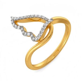 White Soiree Diamond Rings