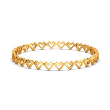 OTT Dote Gold Bangles