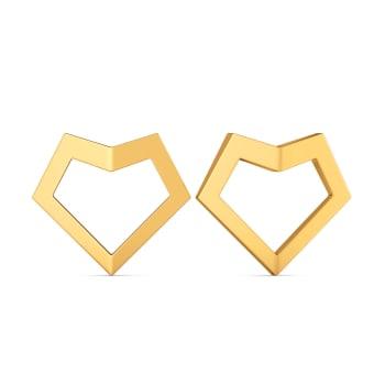Fond Fashion Gold Earrings