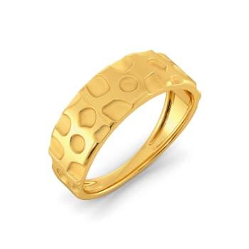 Panthera Pardus  Gold Rings