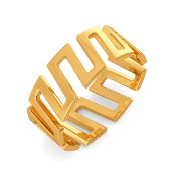 Drama Rules Gold Rings