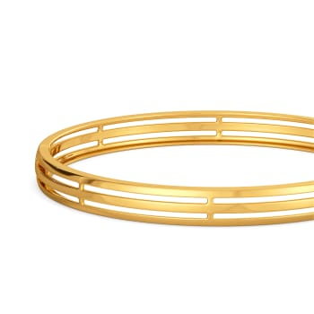 Balloon Basics Gold Bangles