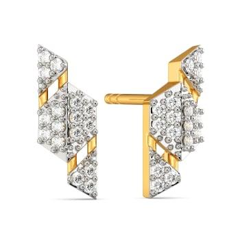 Modest Tones Diamond Earrings