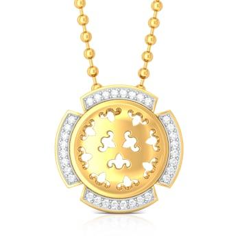 Dancing Diva Diamond Pendants