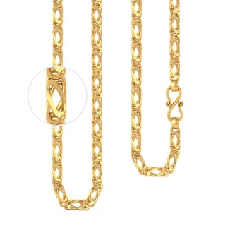 22kt Snail Gold Chain Gold Chains