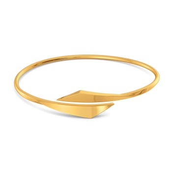 Super Suit Gold Bangles
