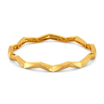 Contour Rebels Gold Bangles