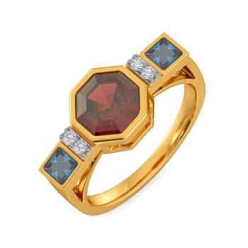 No Undertone Gemstone Rings