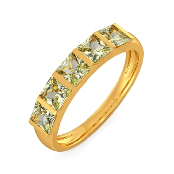 Mod Greens Gemstone Rings
