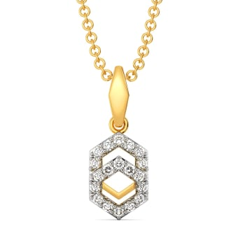 Liberal Layers Diamond Pendants